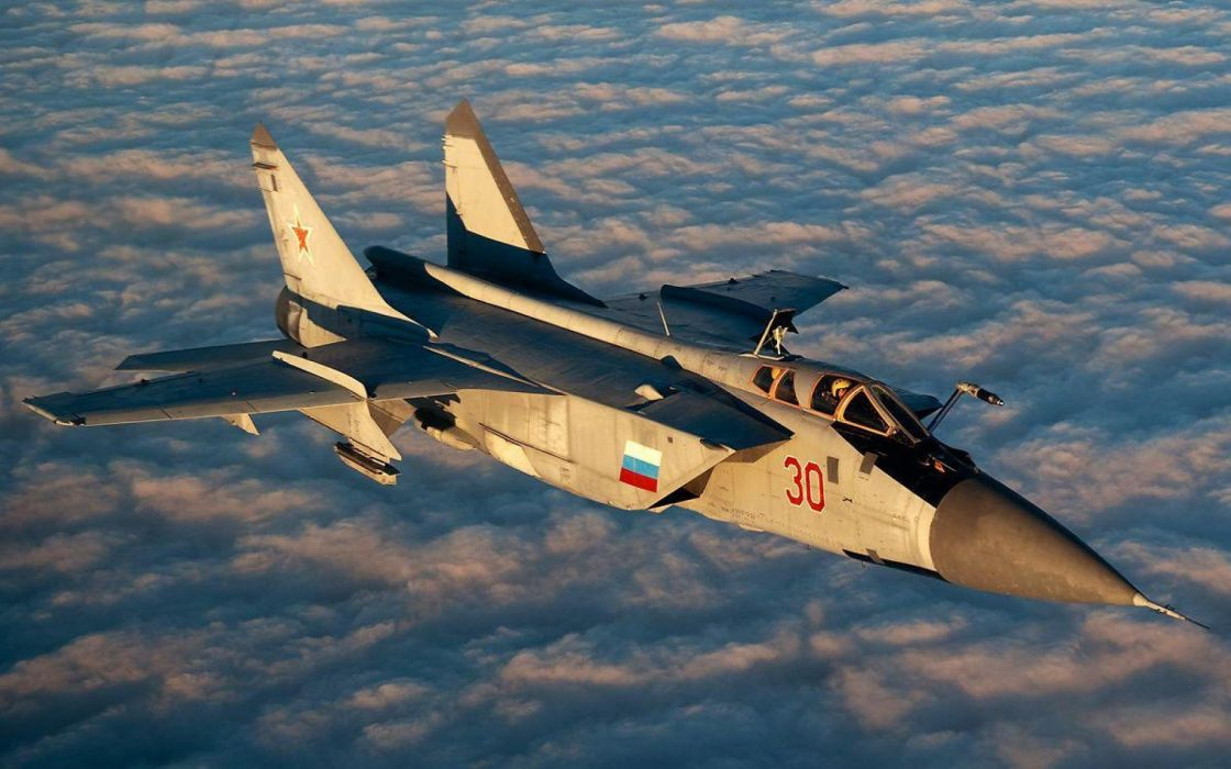Mig 31 Fighter Jet Military Airplane Plane Russian Mig 27