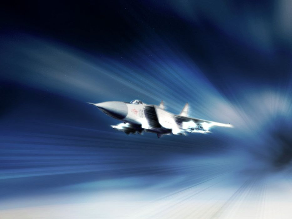 MIG-31 fighter jet military airplane plane russian mig (29) wallpaper