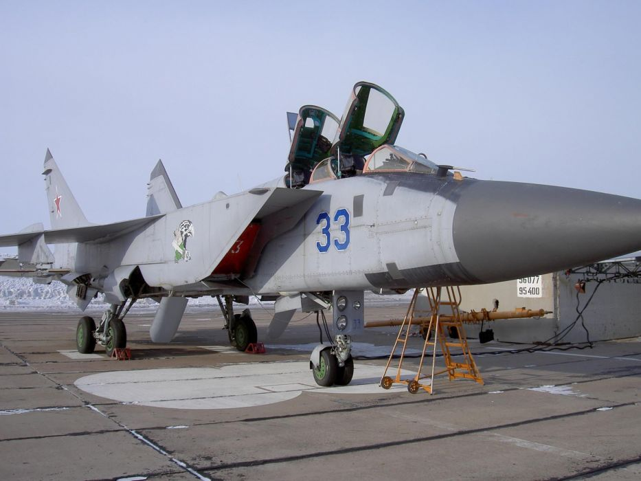 MIG-31 fighter jet military airplane plane russian mig (34) wallpaper