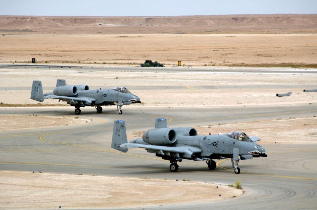A-10 bomber jet fighter bomb military airplane plane thunderbolt warthog (1) wallpaper