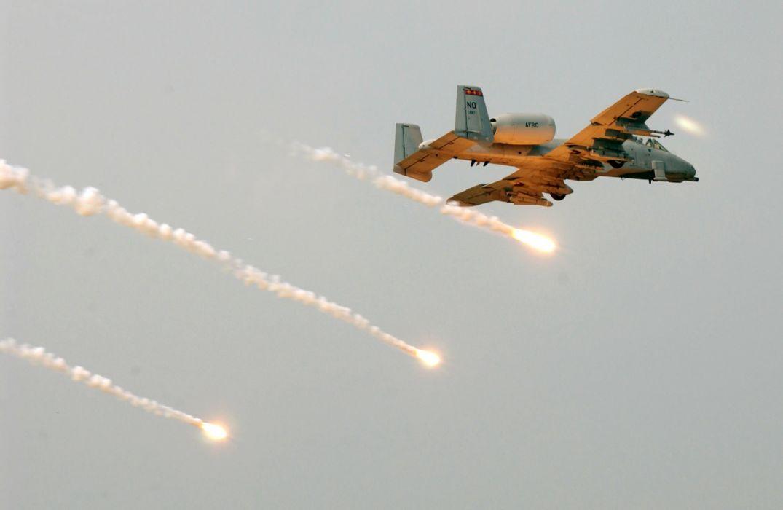 A-10 bomber jet fighter bomb military airplane plane thunderbolt warthog (4) wallpaper
