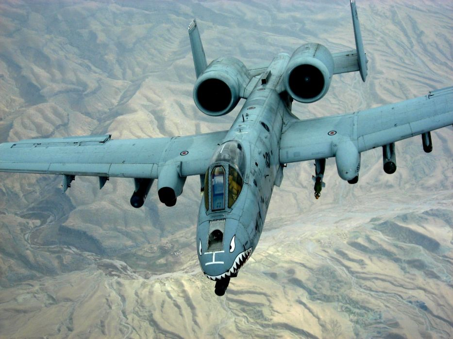 A-10 bomber jet fighter bomb military airplane plane thunderbolt warthog (7) wallpaper