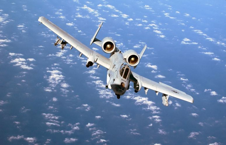 A-10 bomber jet fighter bomb military airplane plane thunderbolt warthog (9) wallpaper