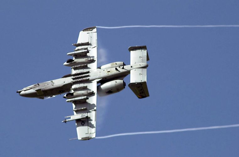 A-10 bomber jet fighter bomb military airplane plane thunderbolt warthog (10) wallpaper