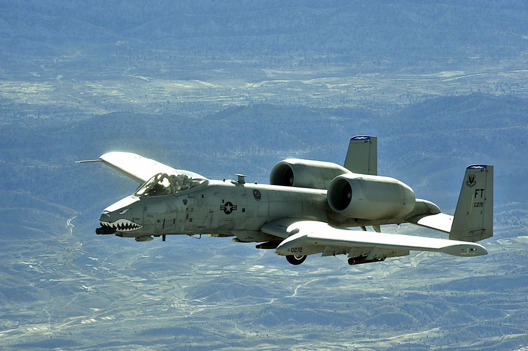 A-10 bomber jet fighter bomb military airplane plane thunderbolt warthog (12) wallpaper