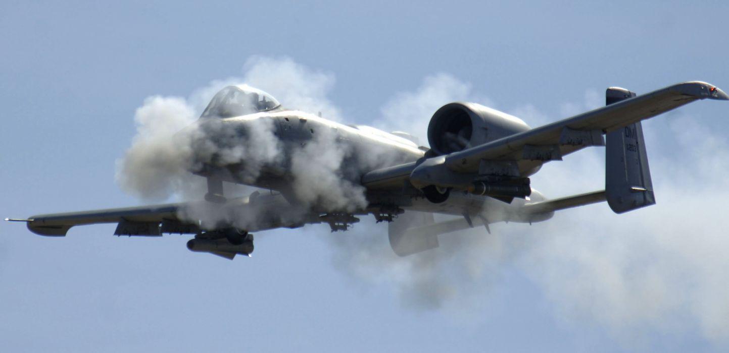 A-10 bomber jet fighter bomb military airplane plane thunderbolt warthog (28) wallpaper