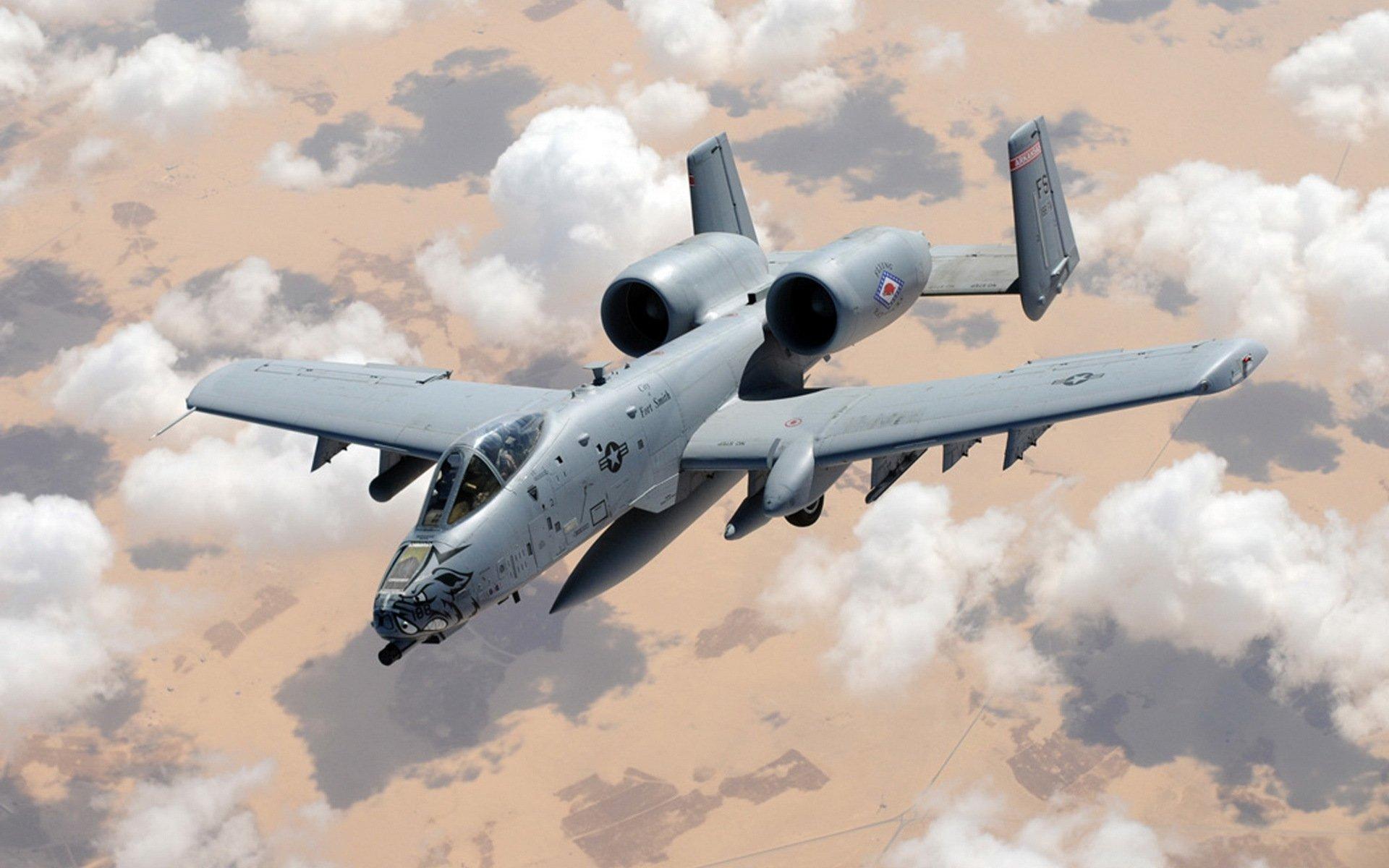 10 bomber jet fighter bomb military airplane plane thunderbolt warthog ...