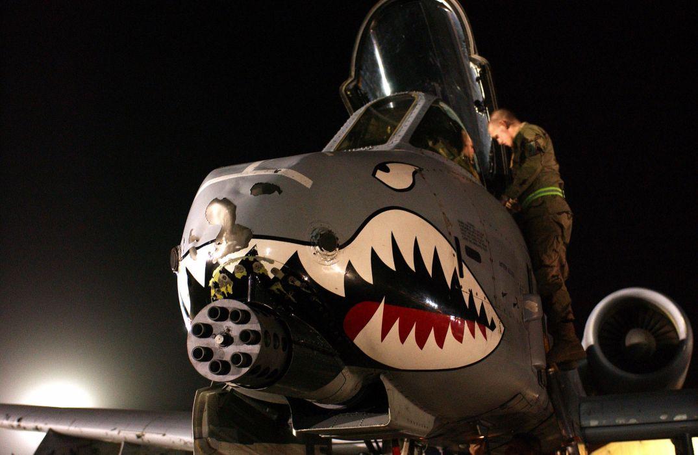 A-10 bomber jet fighter bomb military airplane plane thunderbolt warthog (38) wallpaper