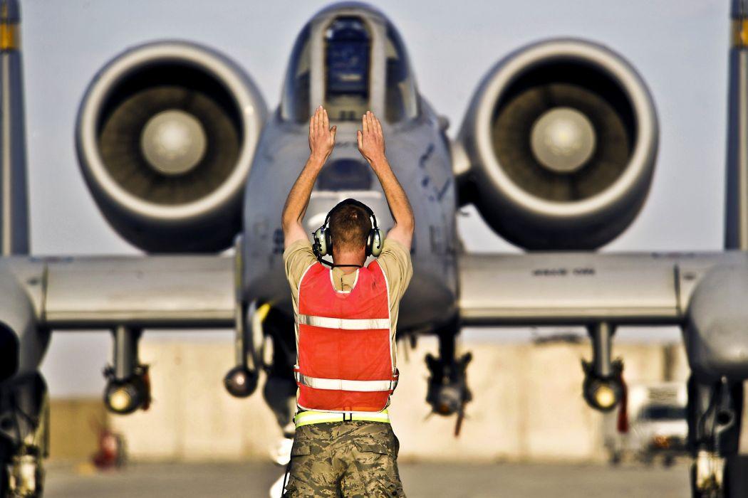 A-10 bomber jet fighter bomb military airplane plane thunderbolt warthog (44) wallpaper