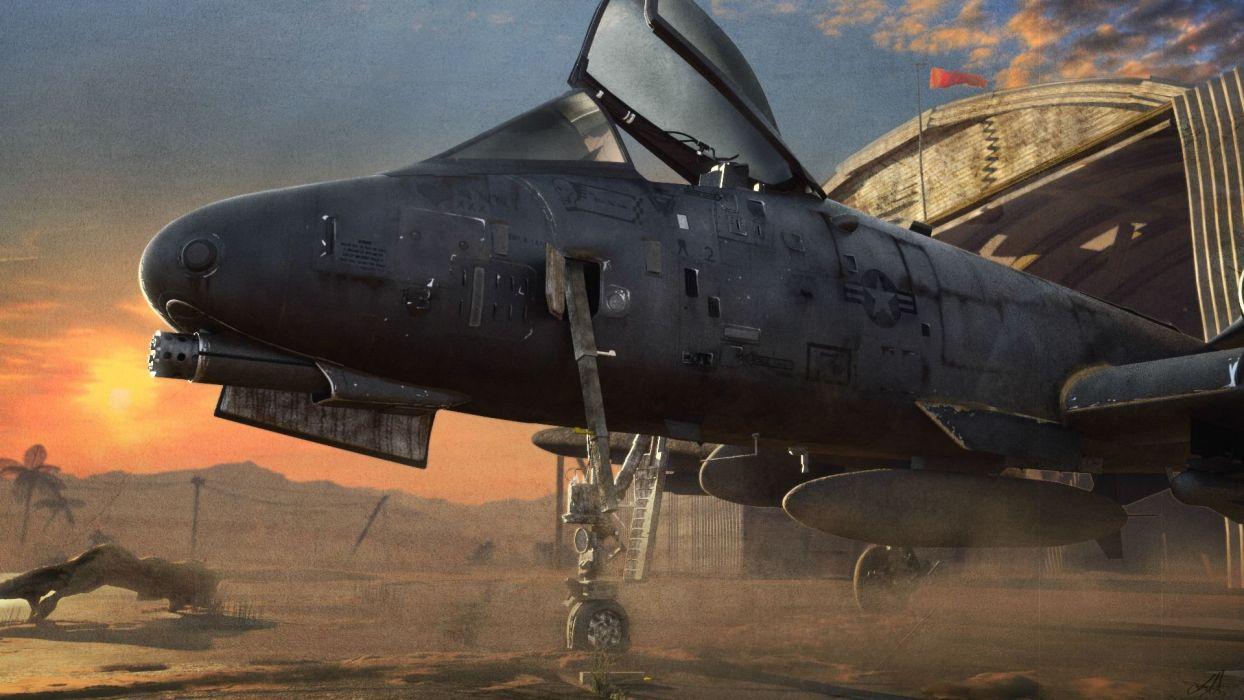 A-10 bomber jet fighter bomb military airplane plane thunderbolt warthog (49) wallpaper