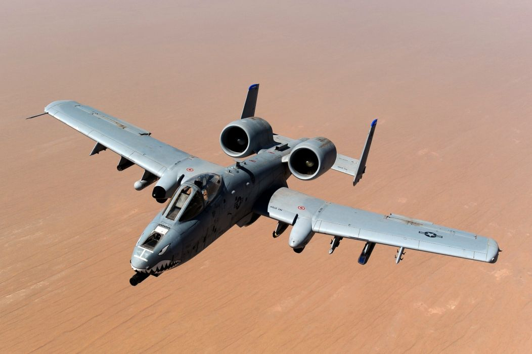 A-10 bomber jet fighter bomb military airplane plane thunderbolt warthog (53) wallpaper