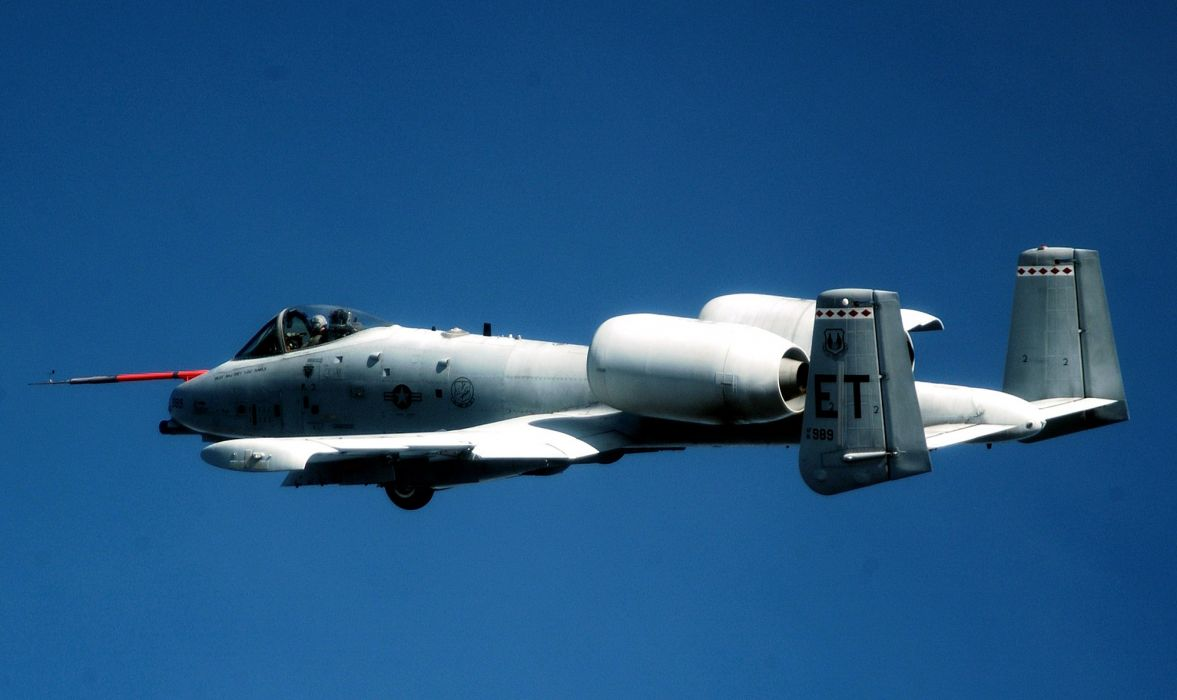 A-10 bomber jet fighter bomb military airplane plane thunderbolt warthog (63) wallpaper