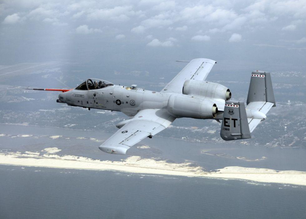 A-10 bomber jet fighter bomb military airplane plane thunderbolt warthog (70)_JPG wallpaper