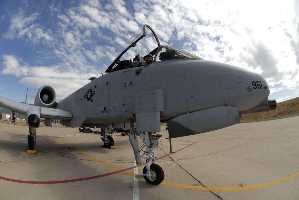 A-10 bomber jet fighter bomb military airplane plane thunderbolt warthog (71)_JPG wallpaper