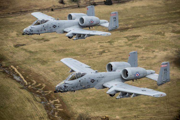 A-10 bomber jet fighter bomb military airplane plane thunderbolt warthog (73)_JPG wallpaper