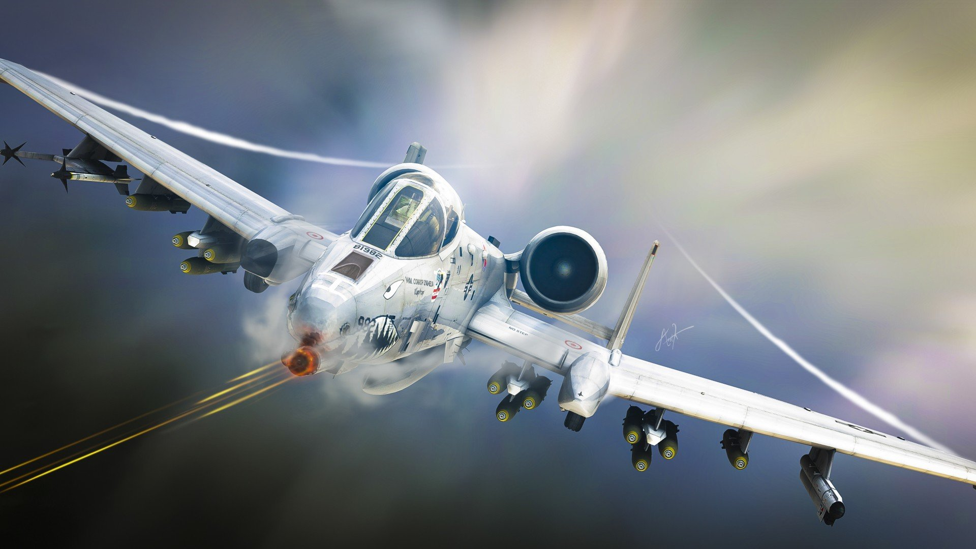 ... military airplane plane thunderbolt warthog (76) wallpaper background