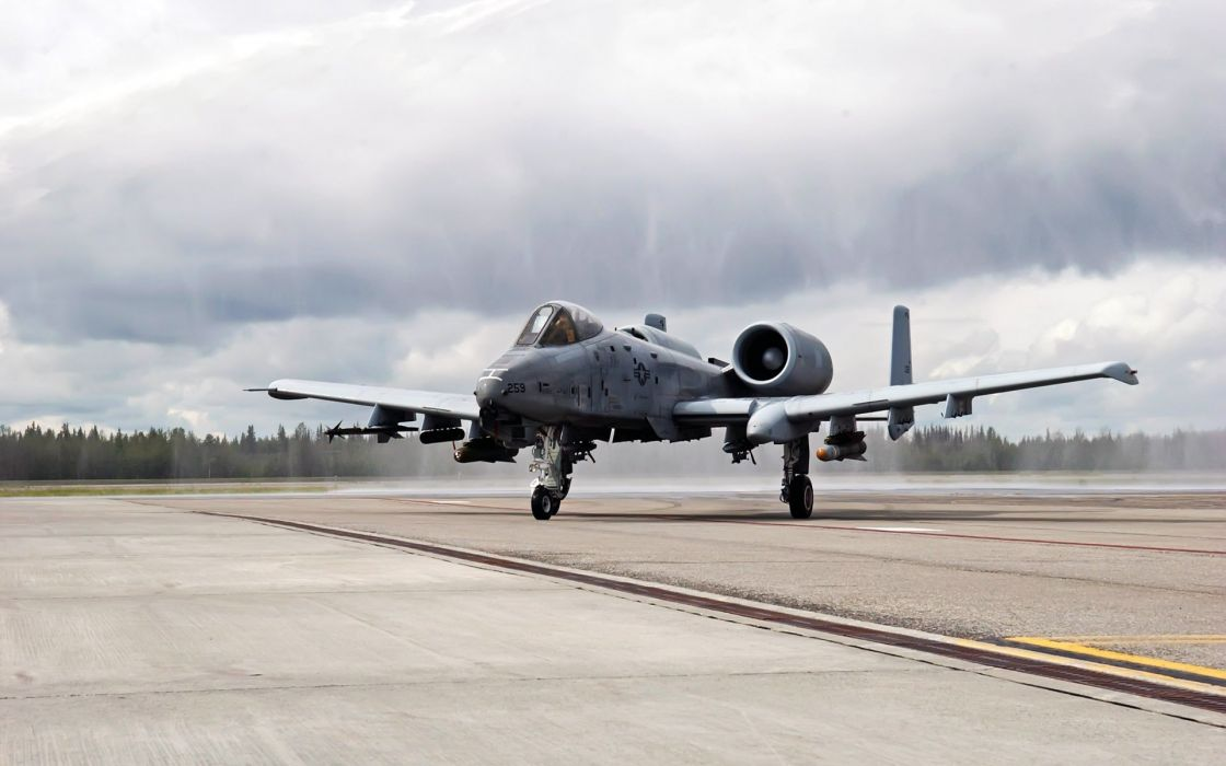 A-10 bomber jet fighter bomb military airplane plane thunderbolt warthog (83) wallpaper