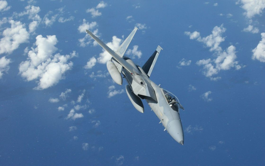 F-15 fighter jet military airplane eagle plane (10) wallpaper