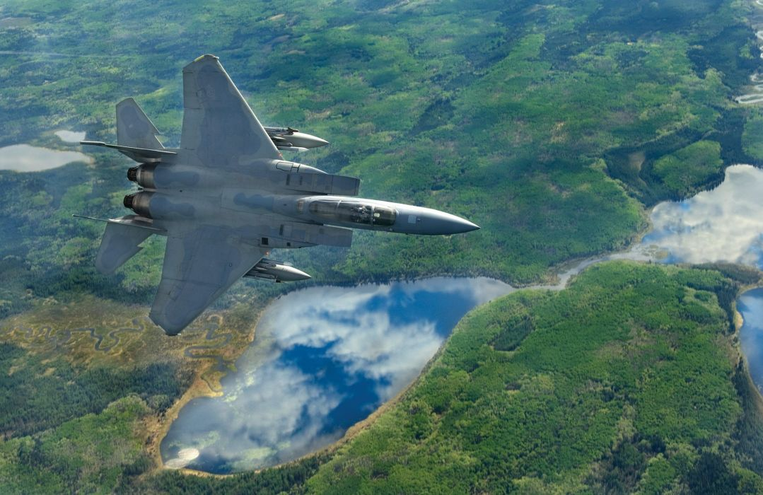 F-15 fighter jet military airplane eagle plane (14) wallpaper