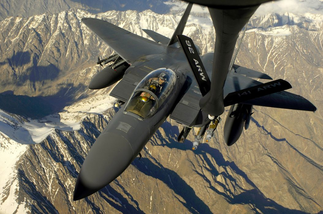 F-15 fighter jet military airplane eagle plane (22) wallpaper