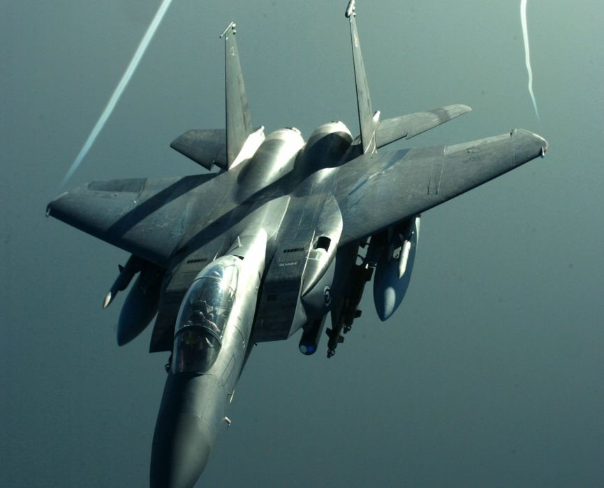 F-15 fighter jet military airplane eagle plane (26) wallpaper