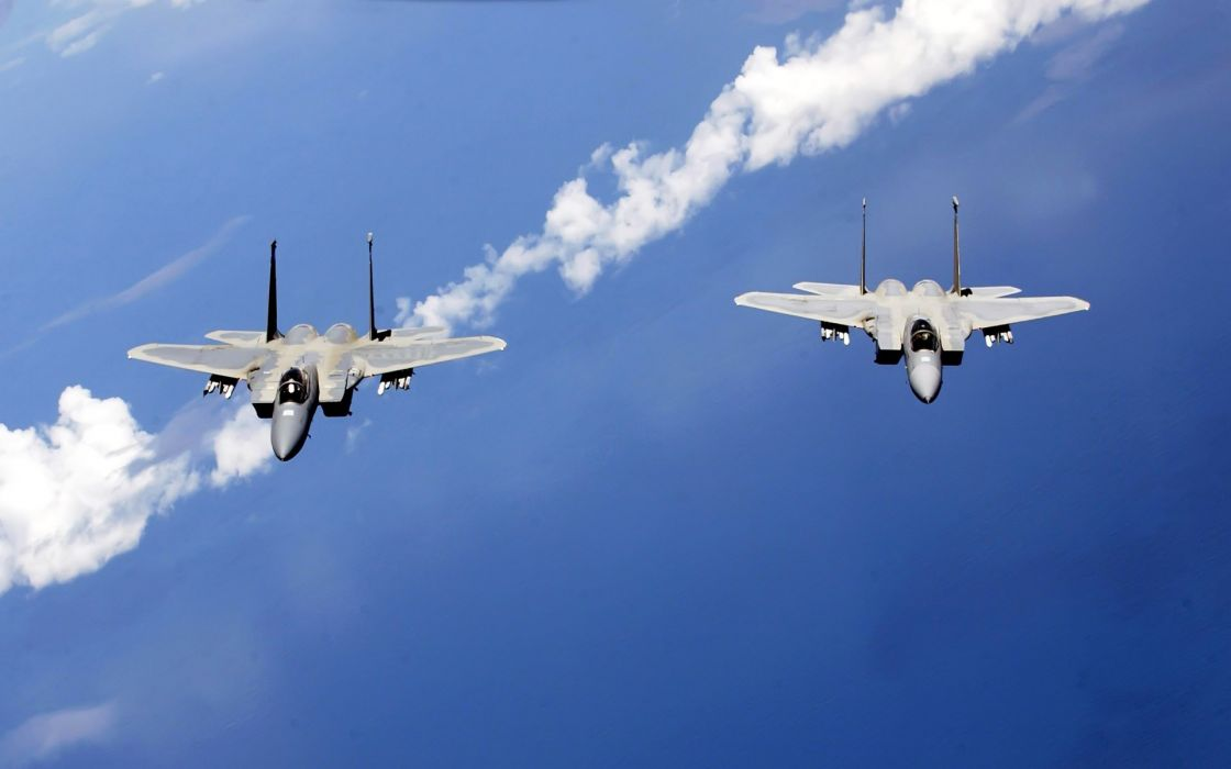F-15 fighter jet military airplane eagle plane (34) wallpaper