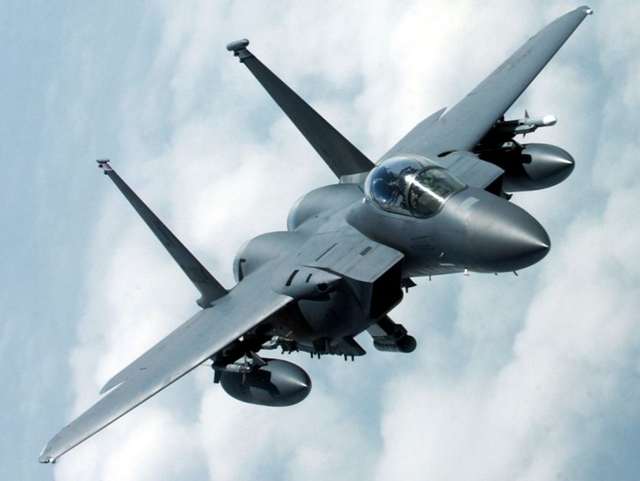 F-15 fighter jet military airplane eagle plane (35) wallpaper
