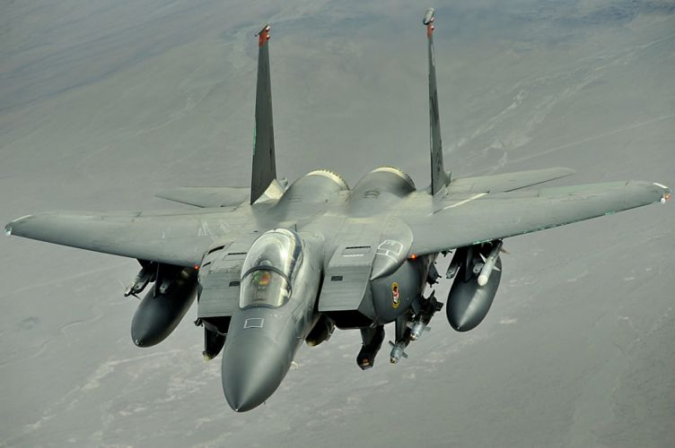 F-15 fighter jet military airplane eagle plane (36) wallpaper
