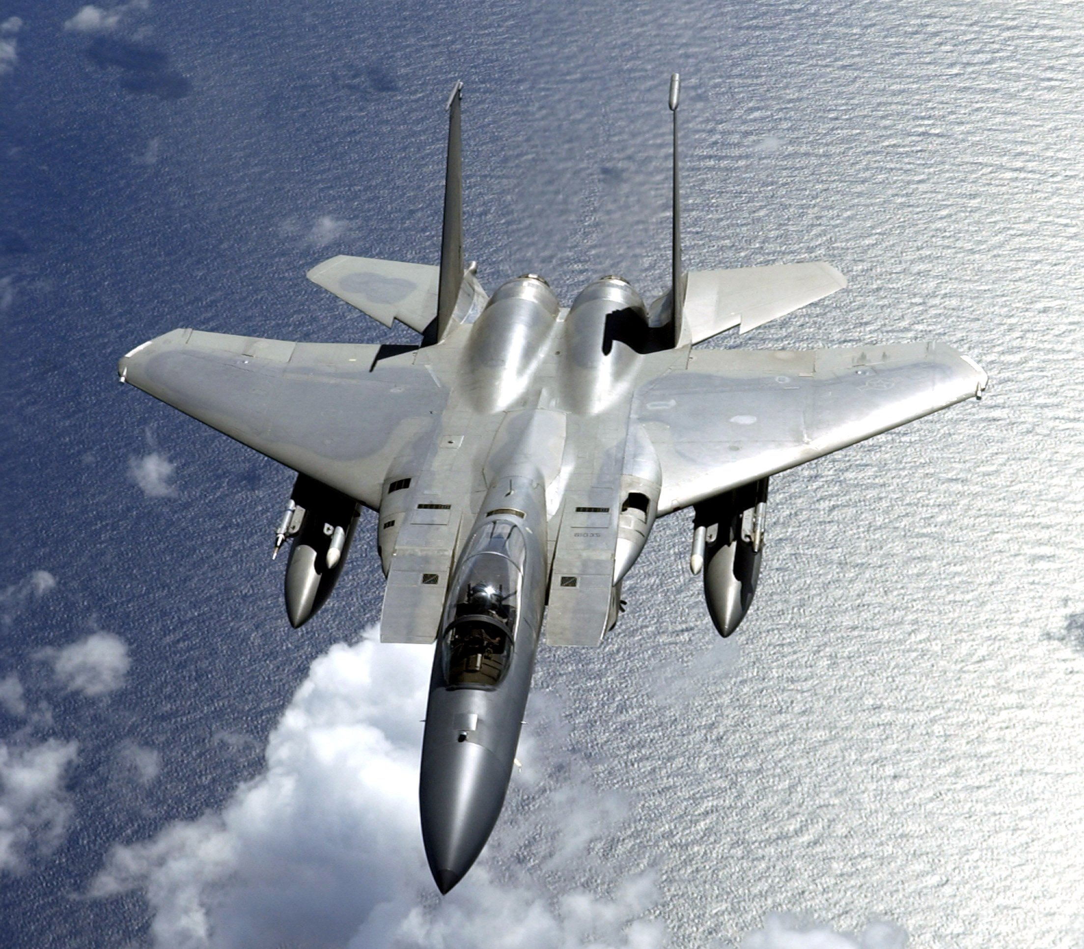 Jet Wallpaper: F-15 Fighter Jet Military Airplane Eagle Plane (37