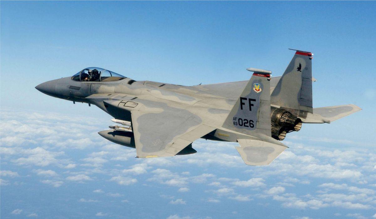 F-15 fighter jet military airplane eagle plane (38)_JPG wallpaper