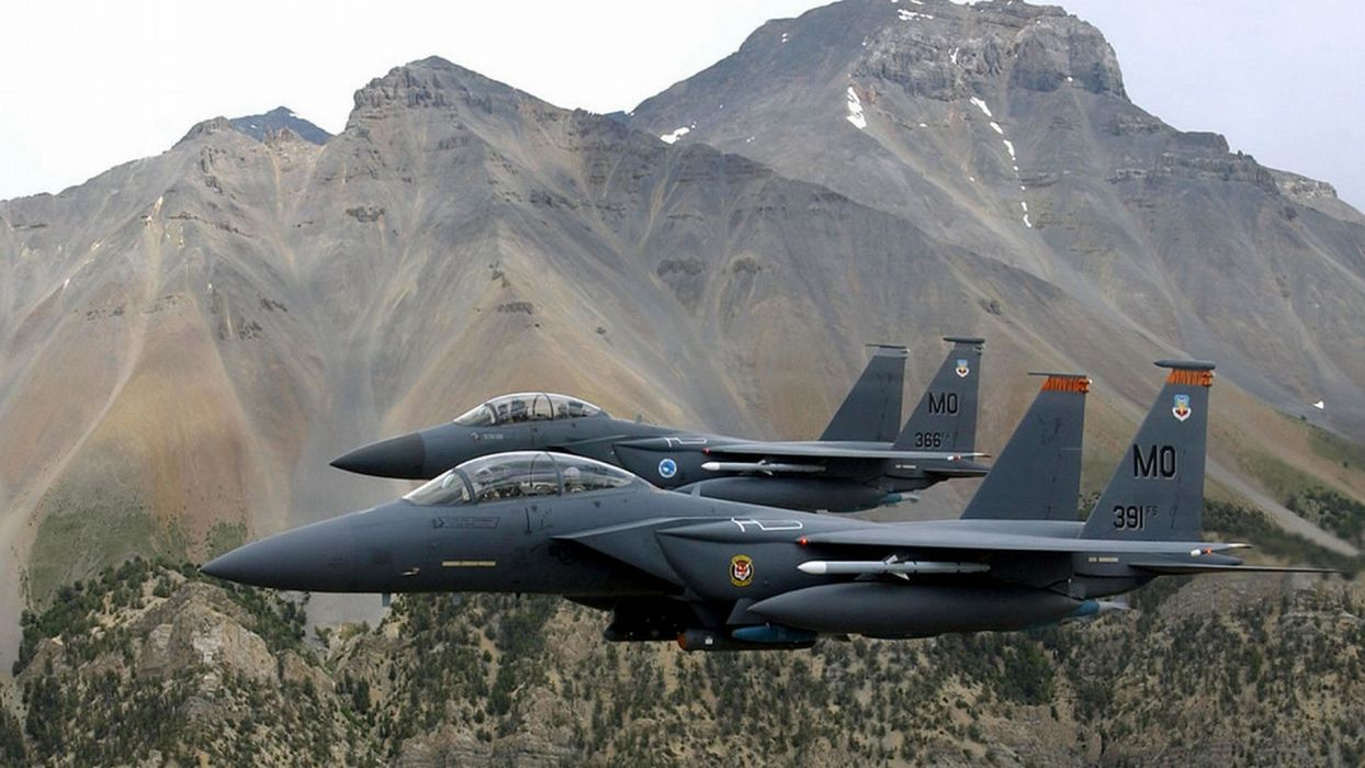 F-15 fighter jet military airplane eagle plane (18) wallpaper