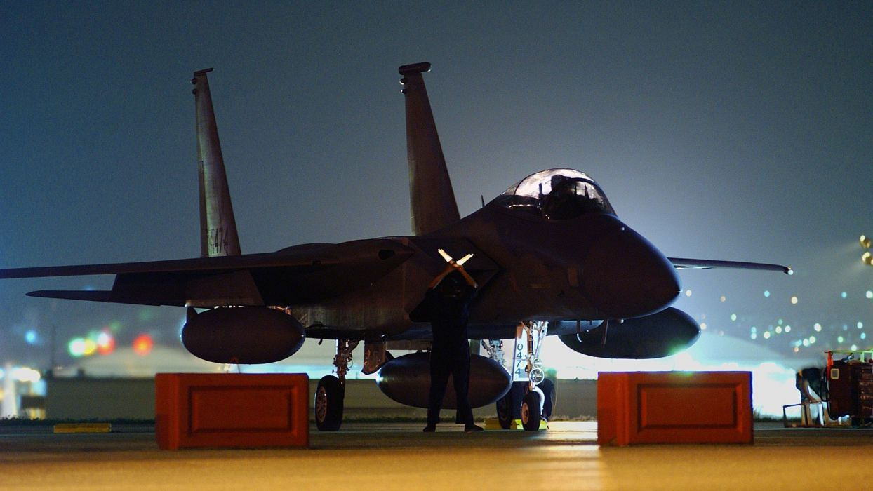 f-15 fighter jet military airplane eagle plane (21) wallpaper