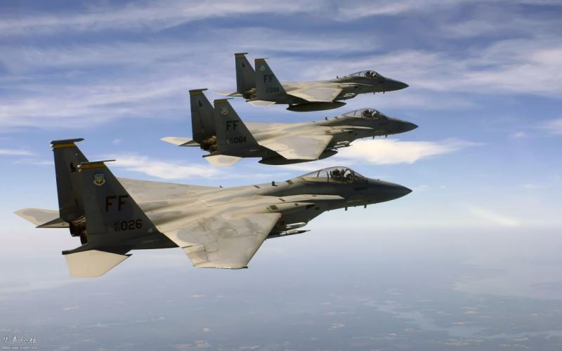 F-15 fighter jet military airplane eagle plane (31) wallpaper