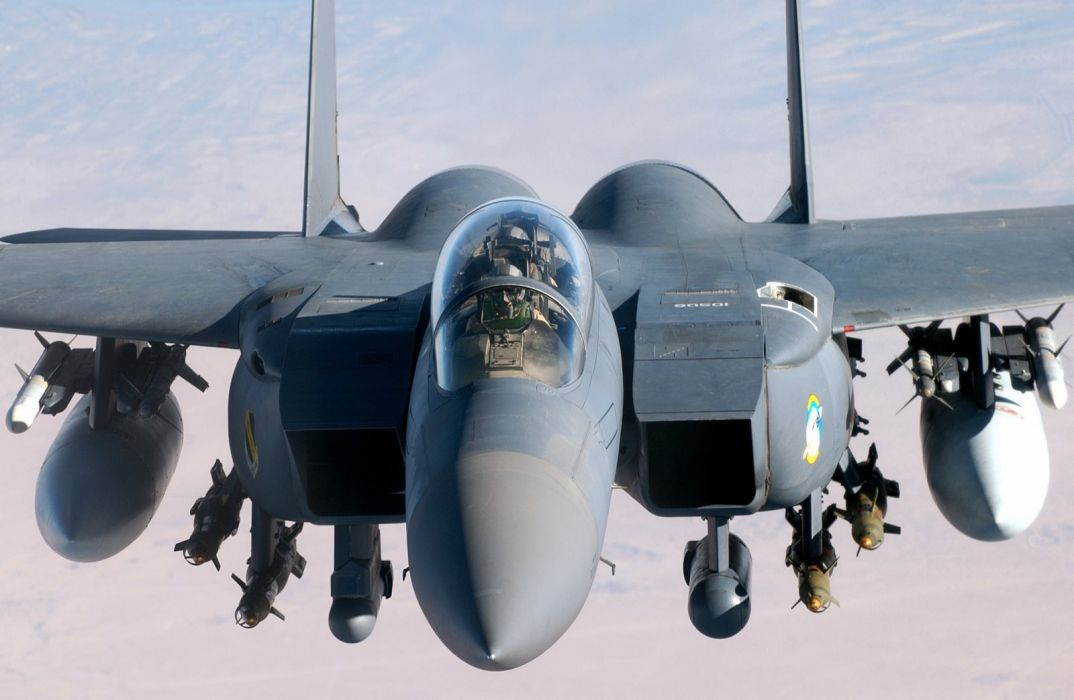 F-15 fighter jet military airplane eagle plane (33) wallpaper