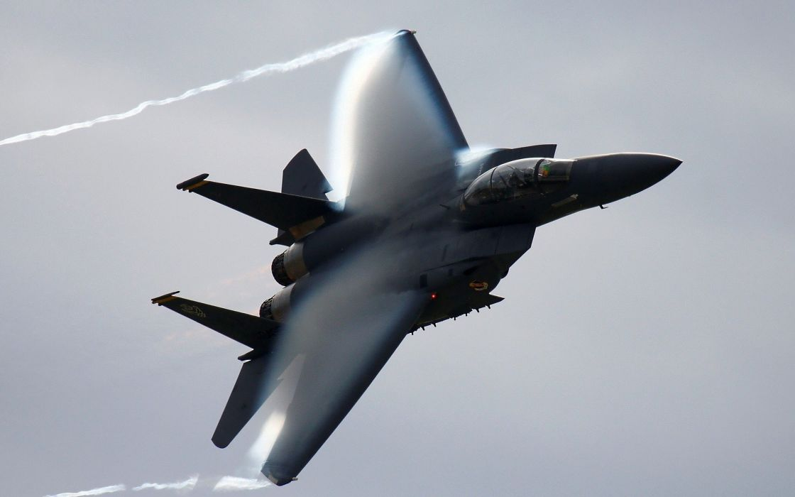 F-15 fighter jet military airplane eagle plane (40) wallpaper