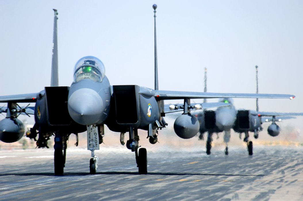 F-15 fighter jet military airplane eagle plane (81) wallpaper