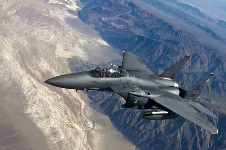 F-15 fighter jet military airplane eagle plane (84) wallpaper
