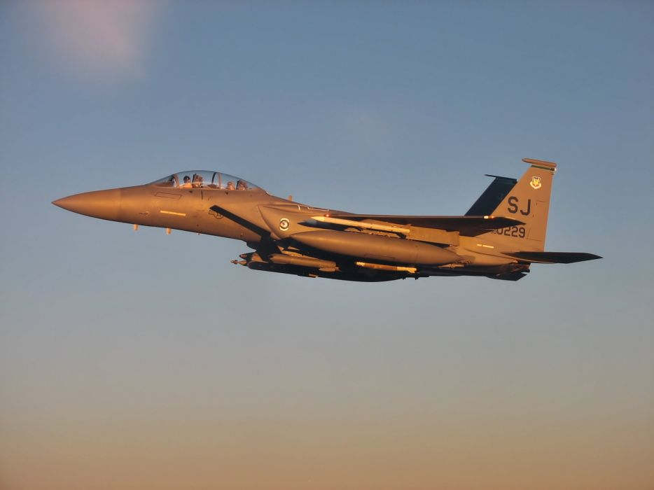 F-15 fighter jet military airplane eagle plane (89) wallpaper