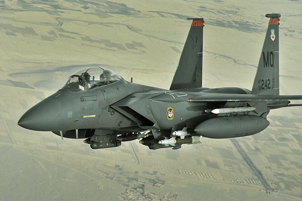 F-15 fighter jet military airplane eagle plane (92) wallpaper