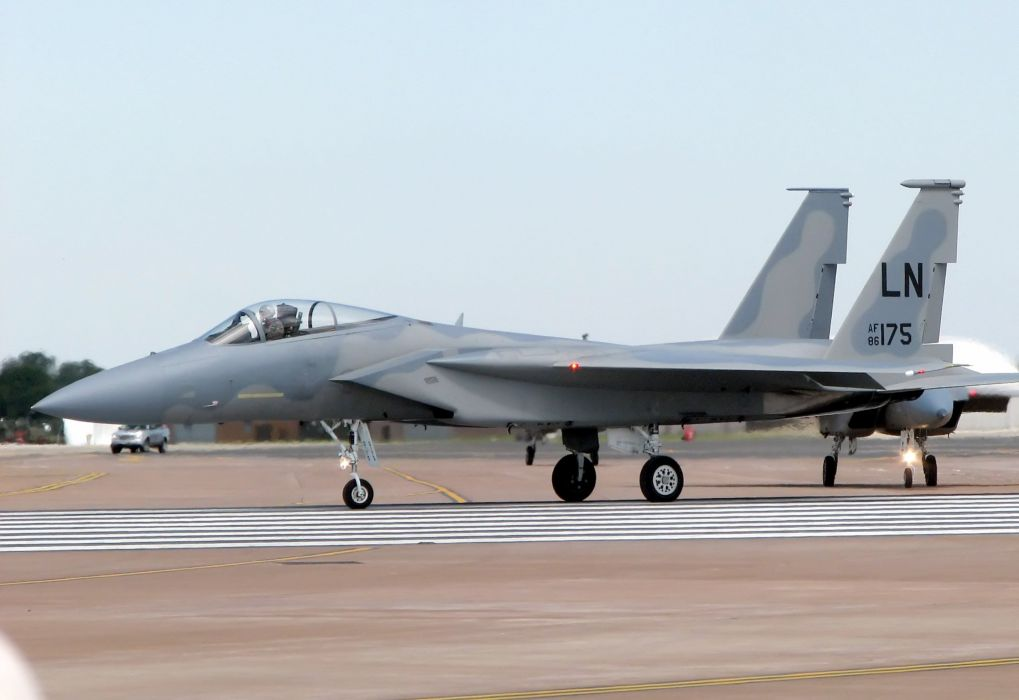 F-15 fighter jet military airplane eagle plane (93) wallpaper