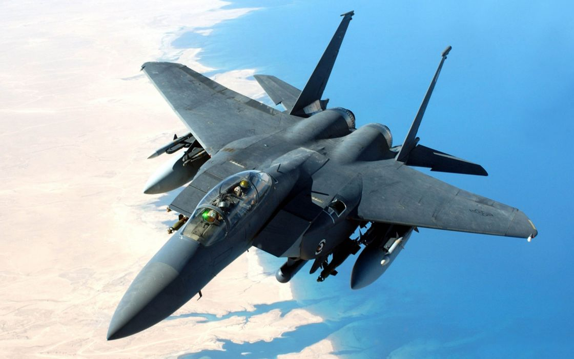 F-15 fighter jet military airplane eagle plane (97) wallpaper