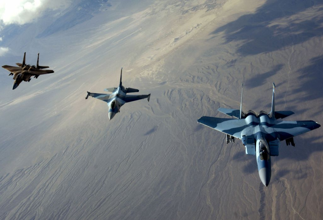 F-15 fighter jet military airplane eagle plane (106) wallpaper