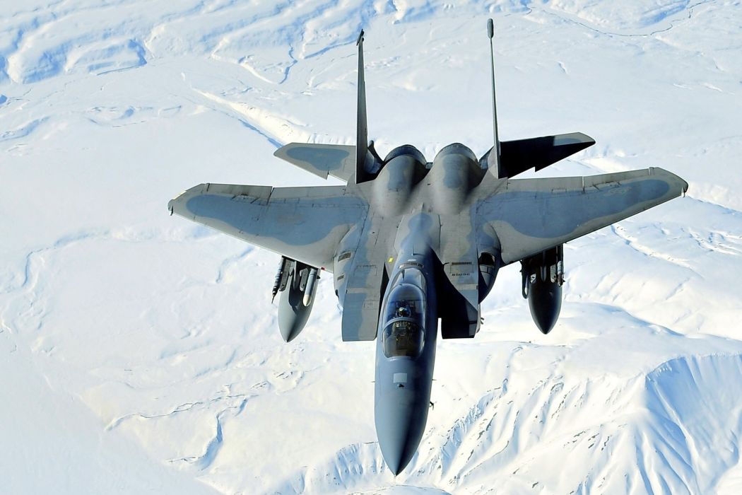 F-15 fighter jet military airplane eagle plane (107) wallpaper