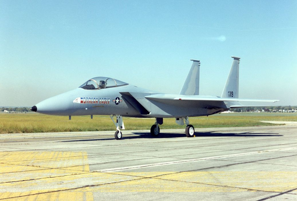 F-15 fighter jet military airplane eagle plane (112) wallpaper