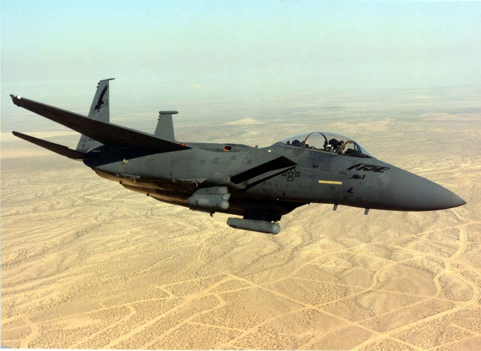 F-15 fighter jet military airplane eagle plane (113) wallpaper