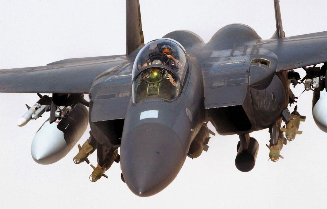F-15 fighter jet military airplane eagle plane (119) wallpaper