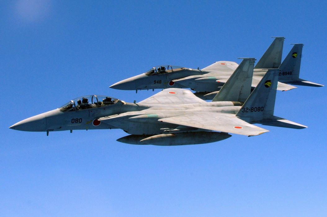 F-15 fighter jet military airplane eagle plane (120) wallpaper