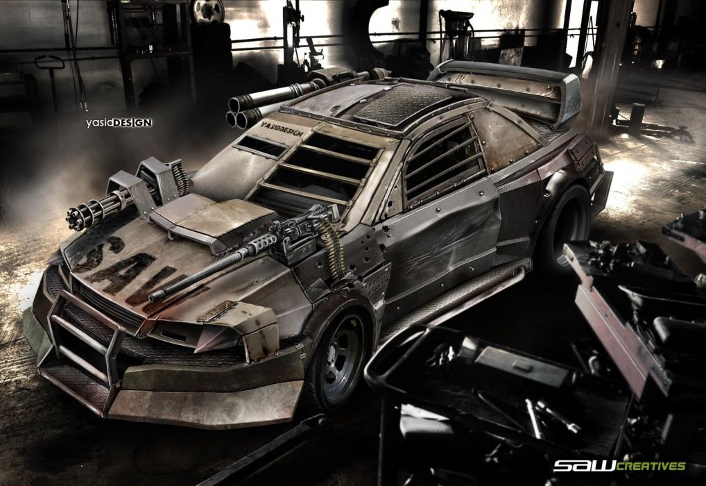 DEATHRACE Subaru Impreza 22B wallpaper