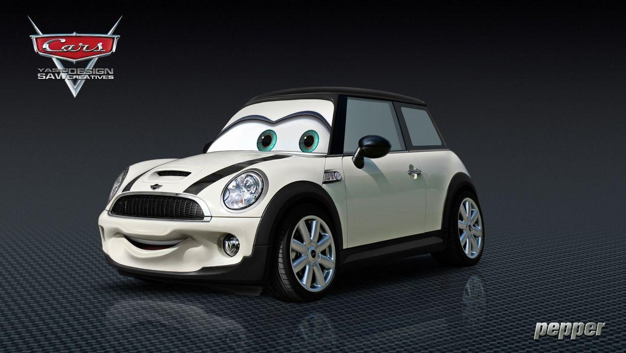Pepper Mini Cooper CARS sub2 wallpaper