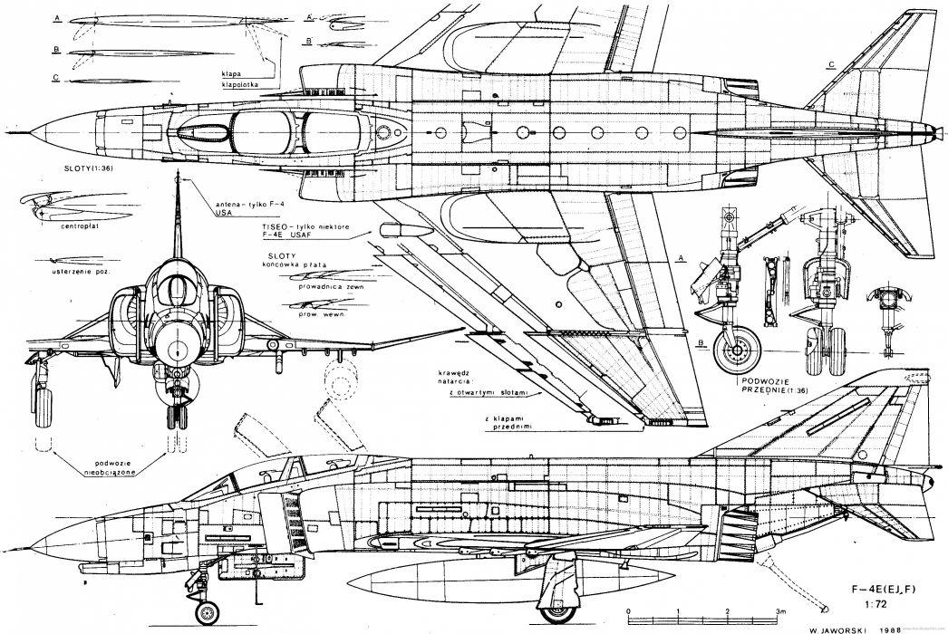 F-4 fighter jet bomber phantom airplane plane military (2) wallpaper